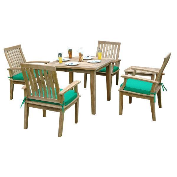 Anderson Teak Bahama Brianna 5-Pieces Dining Set Dining Set