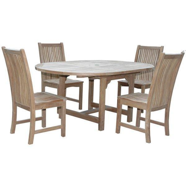 Anderson Teak Bahama Chicago 5-Pieces Dining Set Dining Set