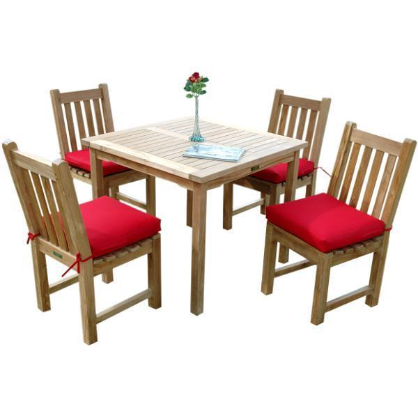 Anderson Teak Bahama Classic 5-Pieces Dining Set Dining Set
