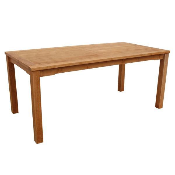 Anderson Teak Bahama Rectangular Dining Table Outdoor Tables