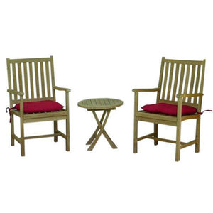 Anderson Teak Bahama Wilshire 3-Pieces Set Seating Set
