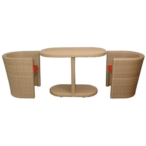 Anderson Teak Barcelona 3-Pieces Dinette Table Set dining set