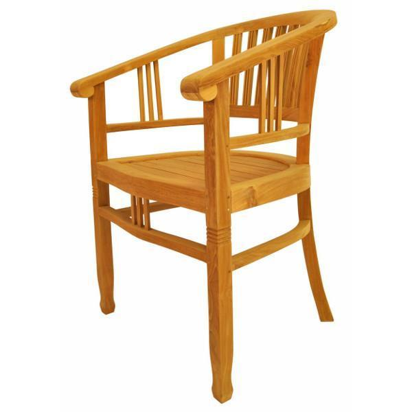 Anderson Teak Captain's Armchair Outdoor Chairs