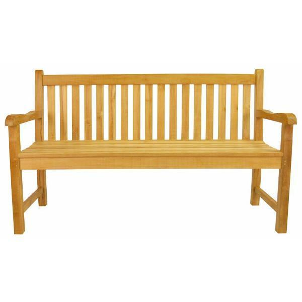 Anderson Teak Classic 4-Seater Bench Garden Bench