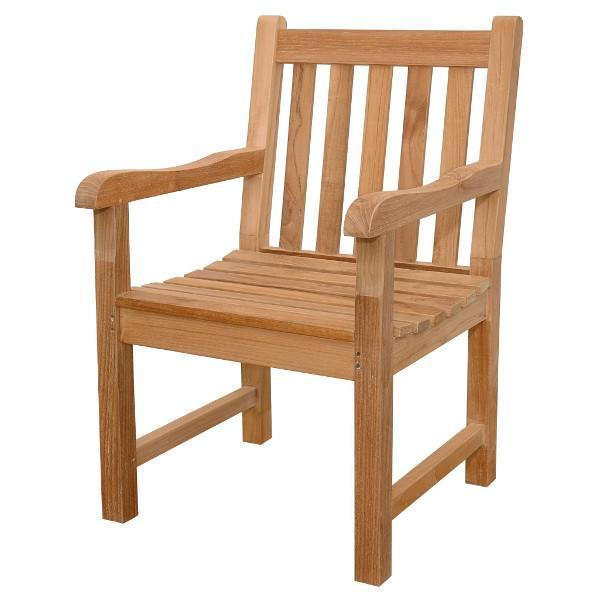 Anderson Teak Classic Dining Armchair Outdoor Chairs