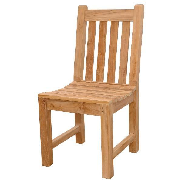 Anderson Teak Classic Dining Chair Outdoor Chairs