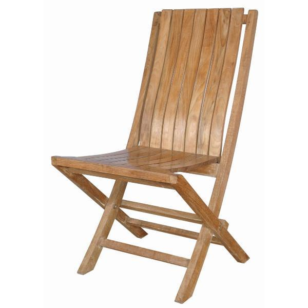 Anderson Teak Comfort Folding Chair (sell & Price Per 2 Chairs Only) folding chair