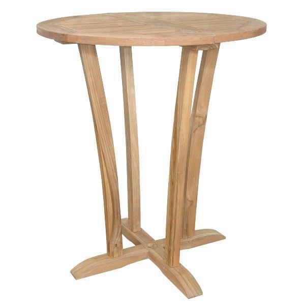 "Anderson Teak Descanso 35"" Round Bar Table Bar Table"