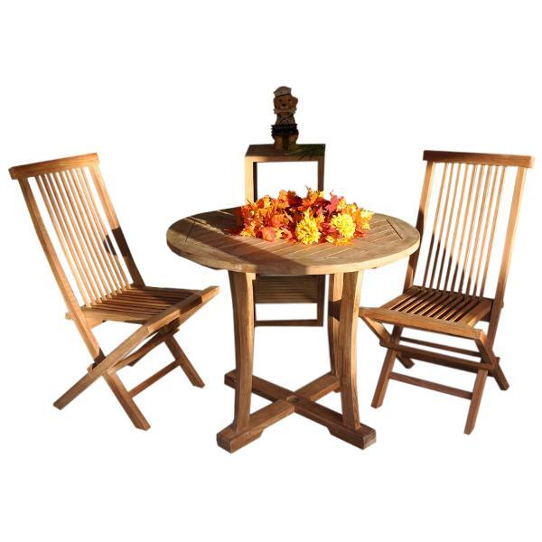 Anderson Teak Descanso Bristol 5-Pieces Dining Set Dining Set