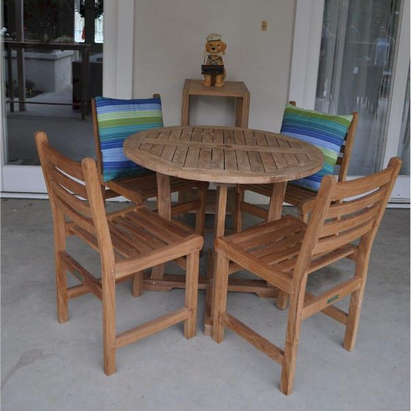 Anderson Teak Descanso Windham 5-Pieces Dining Set dining set