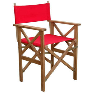 Anderson Teak Director Folding Armchair With Canvas ( Sold As A Pair) Folding Chair