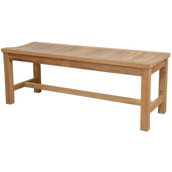 "Anderson Teak Madison 59"" Backless Bench Backless Benches"