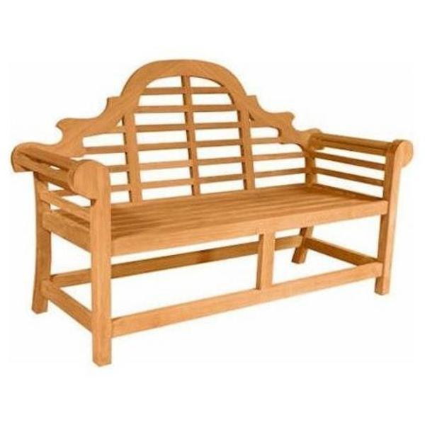 Anderson Teak Marlborough 2-Seater Bench Bench