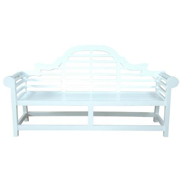 Anderson Teak Marlborough 3-Seater Bench Garden Benches