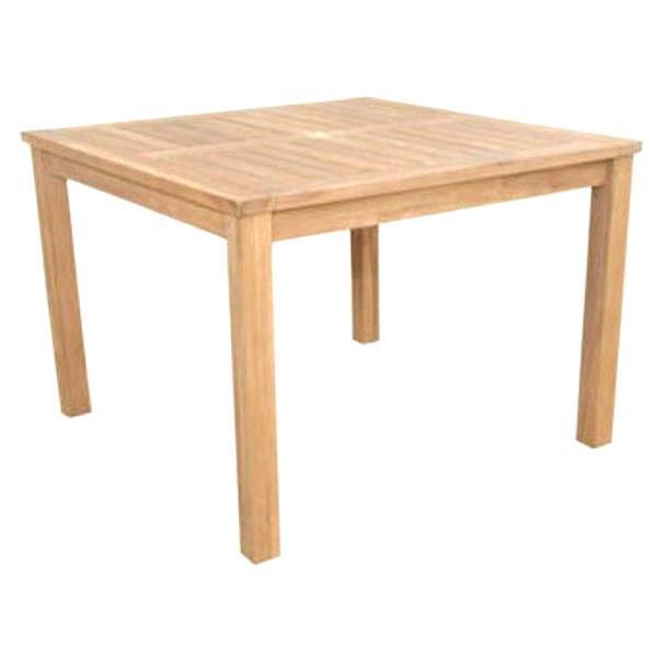 "Anderson Teak Montage 42"" Square Table Dining Table"