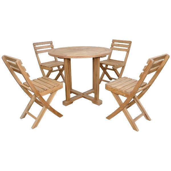 Anderson Teak Montage Alabama 5-Pieces Bistro Set dining set