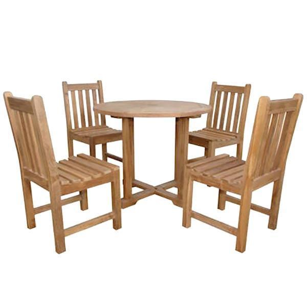 Anderson Teak Montage Braxton 5-Pices Dining Set C dining set