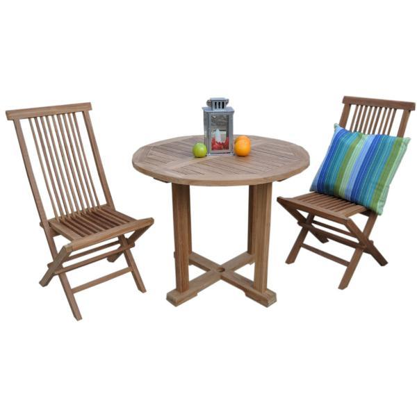 Anderson Teak Montage Bristol 5-Pieces Dining Set Dining Set