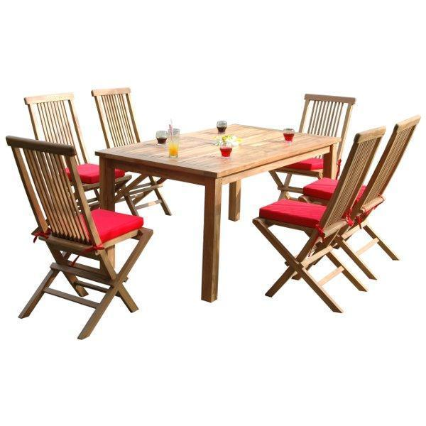 Anderson Teak Montage Bristol 7-Pieces Dining Set Dining Set