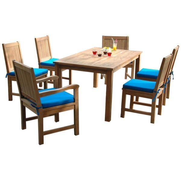 Anderson Teak Montage Chester 7-Pieces Dining Set Dining Set