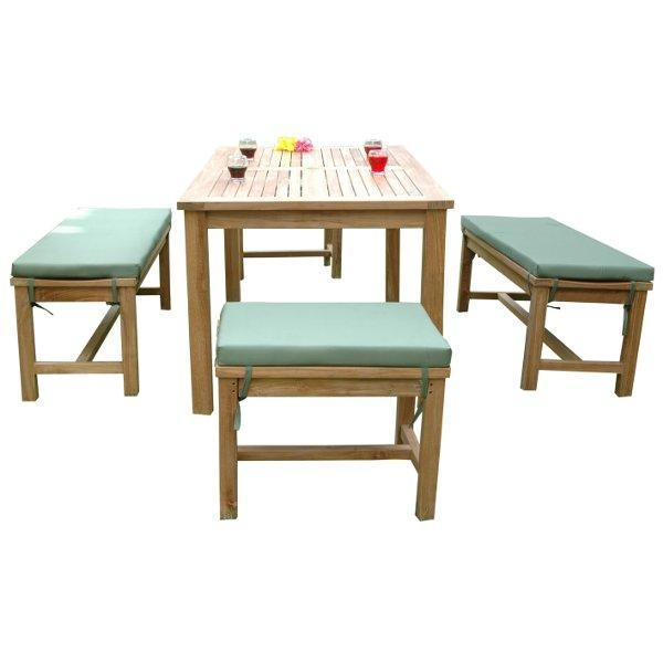 Anderson Teak Montage Madison 5-Pices Dining Set Dining Set