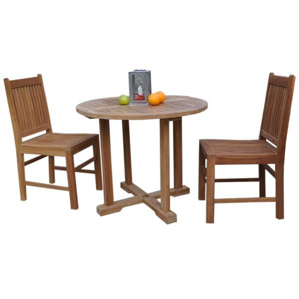 Anderson Teak Montage Saratoga 5-Pieces Dining Set dining set
