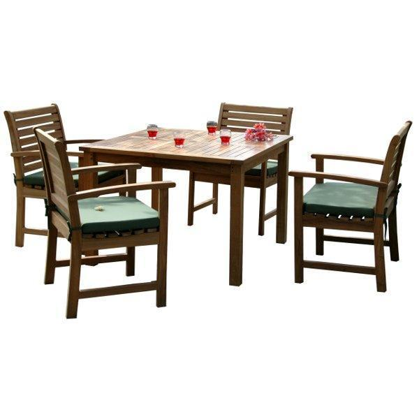 Anderson Teak Montage Victoria 5-Pices Dining Set Dining Set