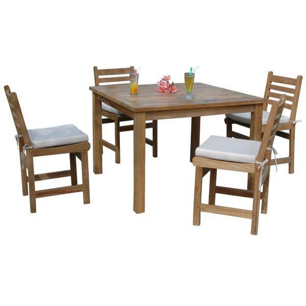 Anderson Teak Montage Windham 5-Pices Dining Set A Dining Set