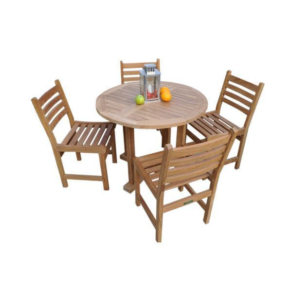 Anderson Teak Montage Windham 5-Pices Dining Set B Dining Set