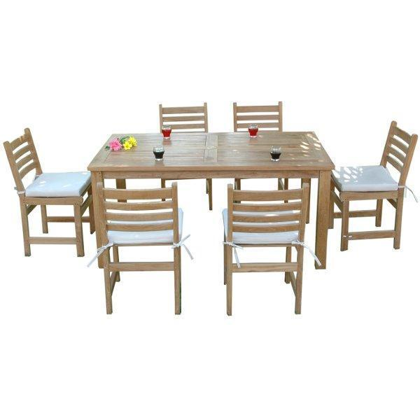 Anderson Teak Montage Windham 7-Pieces Dining Set Dining Set