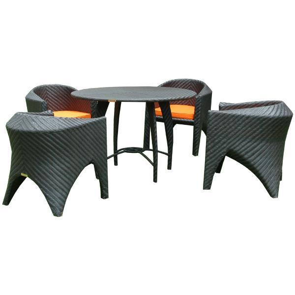 Anderson Teak Montebello 5-Pieces Dining Set Dining Set