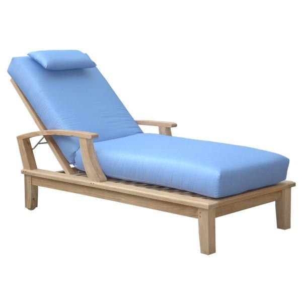 Anderson Teak New Brianna Sun Lounger with Arm Lounger