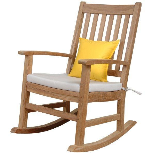 Anderson Teak Palm Beach Rocking Armchair Rocker Chair