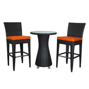 Anderson Teak Portofino 3-Pieces Bar Set