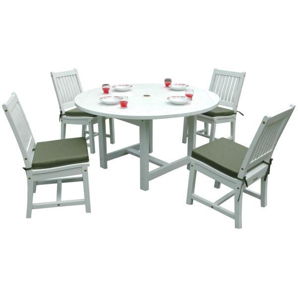 Anderson Teak Regency 5-Pieces Dining Set Picnic Table