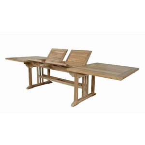 "Anderson Teak Sahara 126"" Rectangular Double Ext. Table tables"
