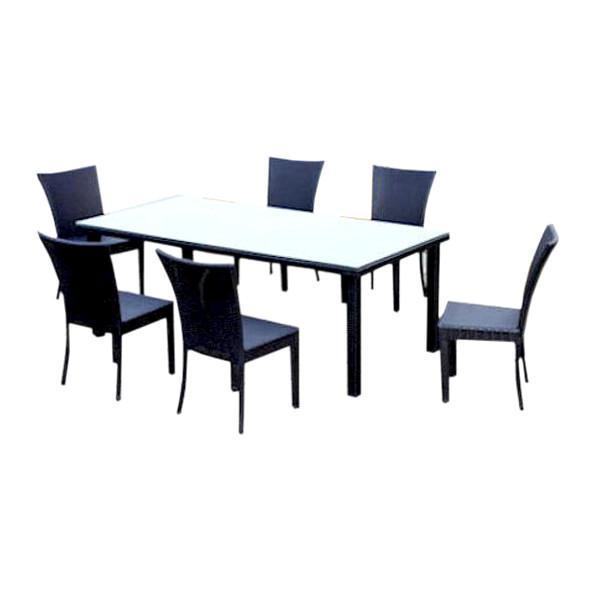 Anderson Teak Sheraton 7-Pieces Dining Set Dining Set