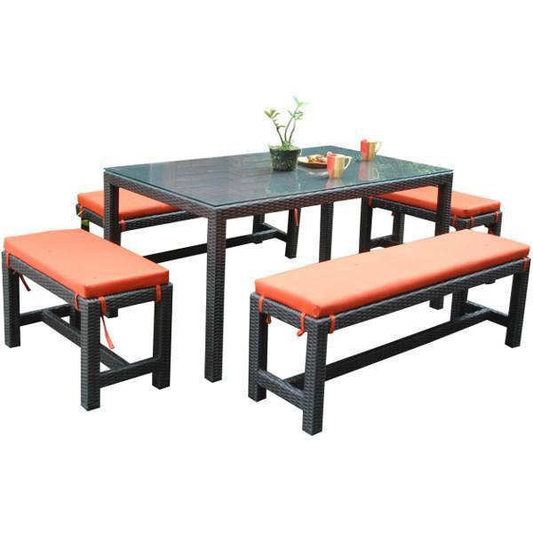 Anderson Teak Sorento 5-Pieces Dining Set Dining Set