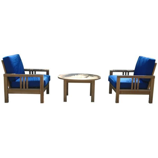 Anderson Teak SouthBay Deep Seating 3-Pieces Conversation Set A Seating Set