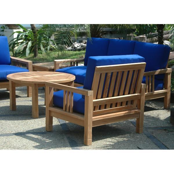 Buttercup South Bay Deep Seating Collection Buttercup Anderson Teak SET-255