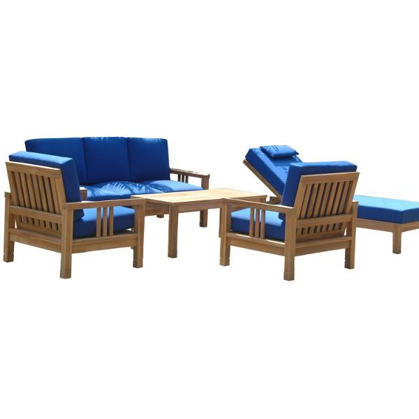 Anderson Teak SouthBay Deep Seating 6-Pieces Conversation Set B Seating Set