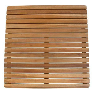 Anderson Teak Square Shower Mat mat