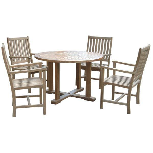 Anderson Teak Tosca Wilshere 5-Pieces Dining Set Dining Set