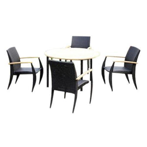 Anderson Teak Venetian 5-Pieces Dining Set Dining Set
