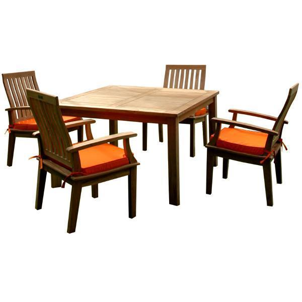 Anderson Teak Windsor Brianna 5-Pieces Dining Table Set Dining Set
