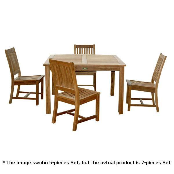 Anderson Teak Windsor Rialto 7-Pieces Dining Table Set Dining Set