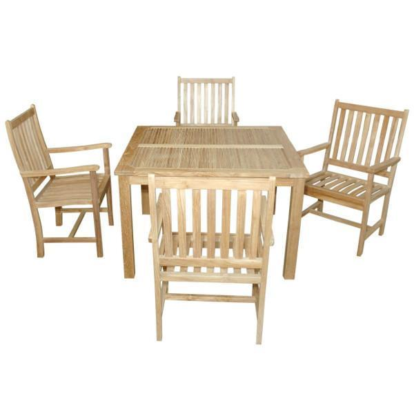 Anderson Teak Windsor Wilshire 5-Pieces Dining Set Dining Set