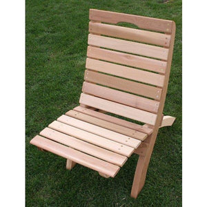 Cedar Folding Table and Chair Travel Collection