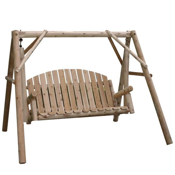 Cedar Log 5ft Country Garden Yard Swing