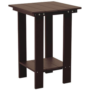 Little Cottage Co. Contemporary Balcony Table Table Tudor Brown